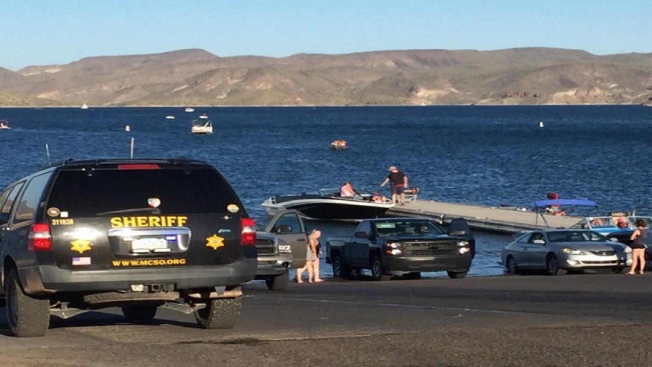 Man not alert after Lake Pleasant near drowning