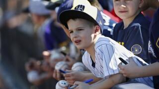 White Sox Brewers Spring Baseball