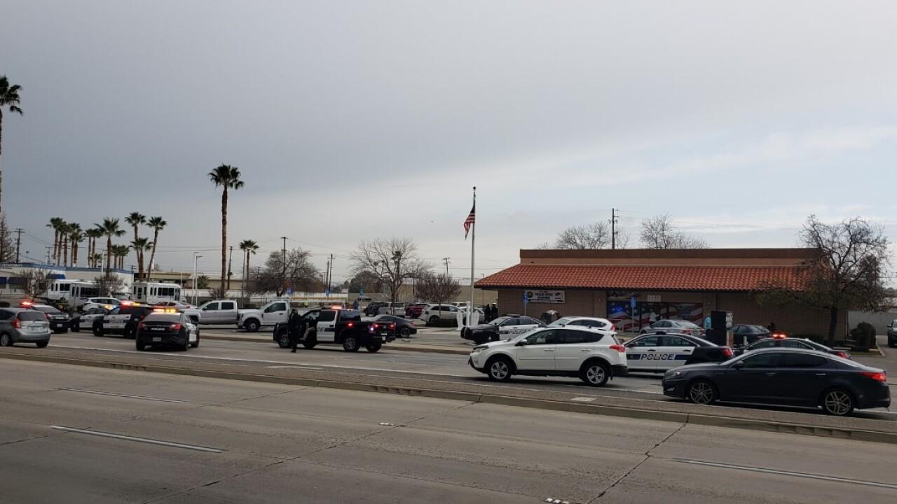 Bakersfield Police Pursuit