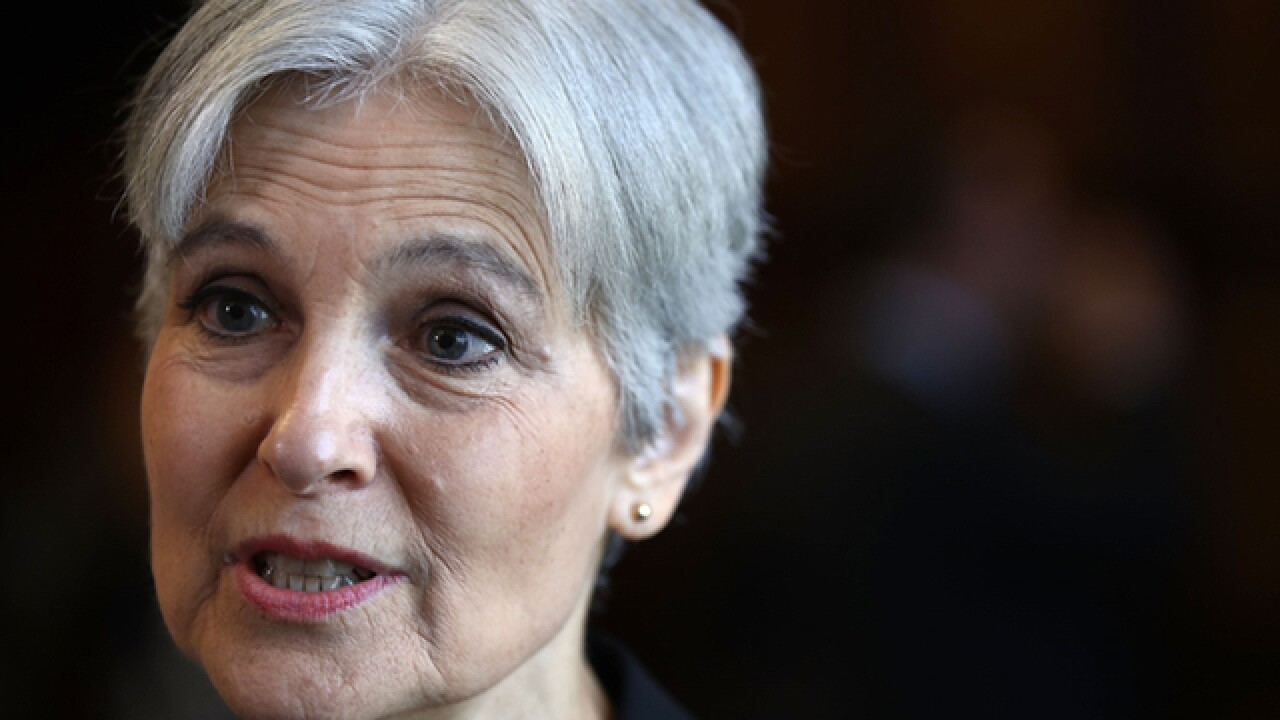 whoops jill stein meant to fly to columbus but ended up in cincinnati