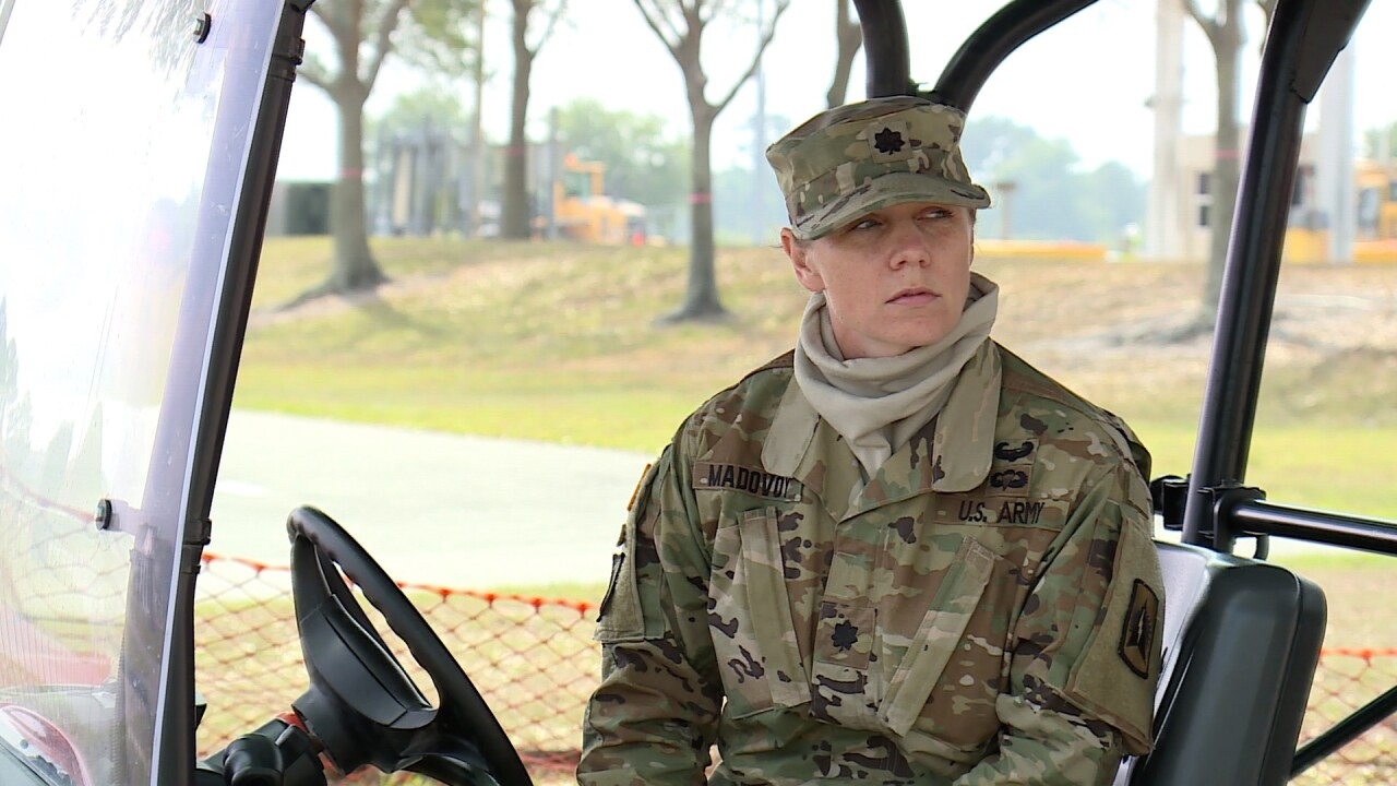 Lieutenant Colonel Tina Madovoy