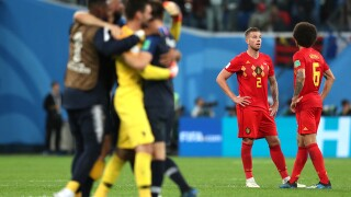 France has reached the World Cup final for the first time since 2006 with a 1-0 win over Belgium
