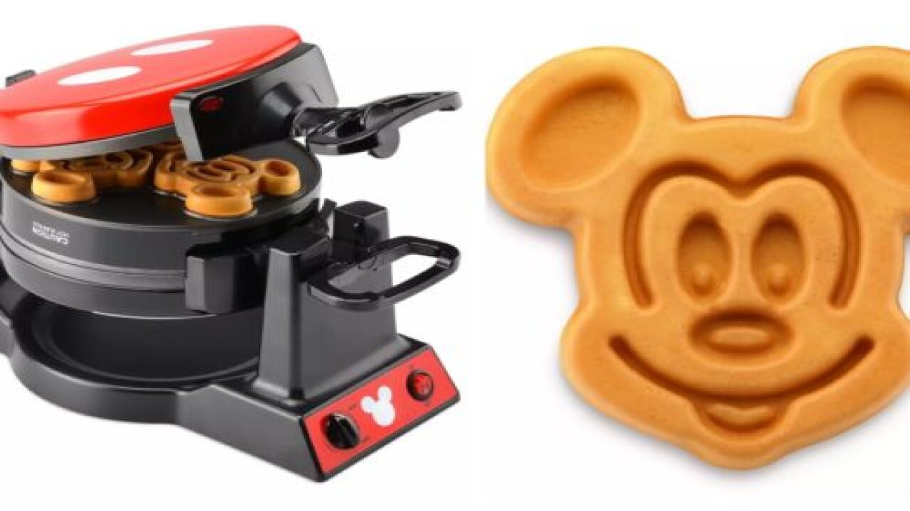 Make Mornings Magical With This Commemorative Mickey Mouse Waffle Maker