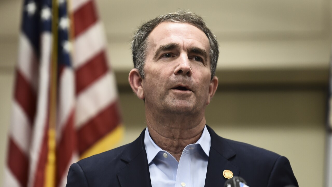Gov. Northam chooses committee members to examine racial inequity in VA law