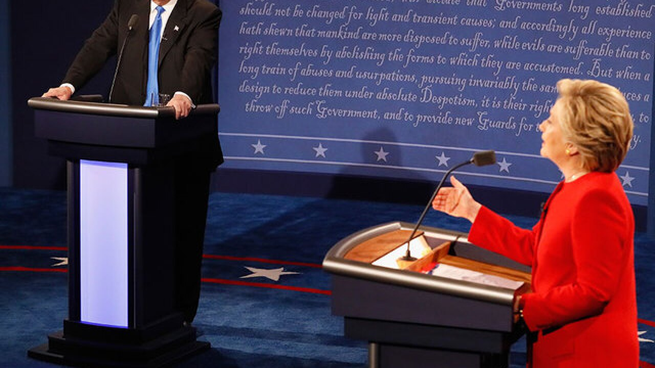 What to look for during Sunday's presidential debate
