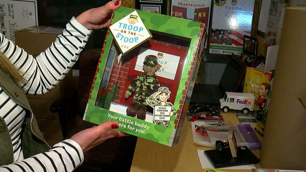 Troop on a Stoop Box.