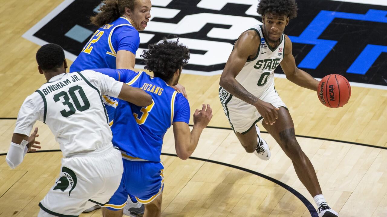 NCAA Michigan St UCLA Basketball