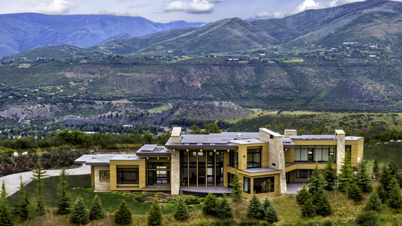 Colorado Dream Homes: Newly-built $22M Aspen home boasts stunning views