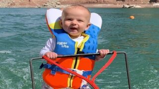 Parents Taught Their 6-month-old To Waterski And Faced Backlash After Video Went Viral