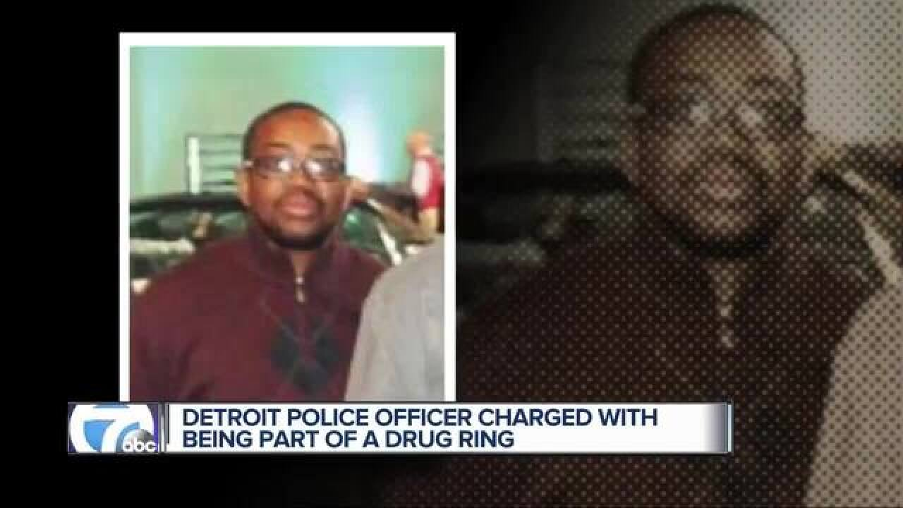 DPD officer indicted in drug conspiracy