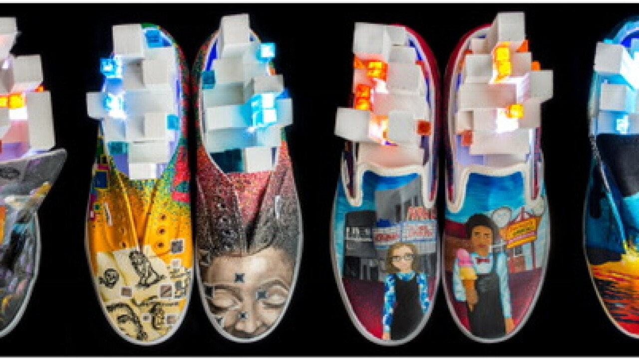 Chesapeake high school makes semi-finals in Vans art competition