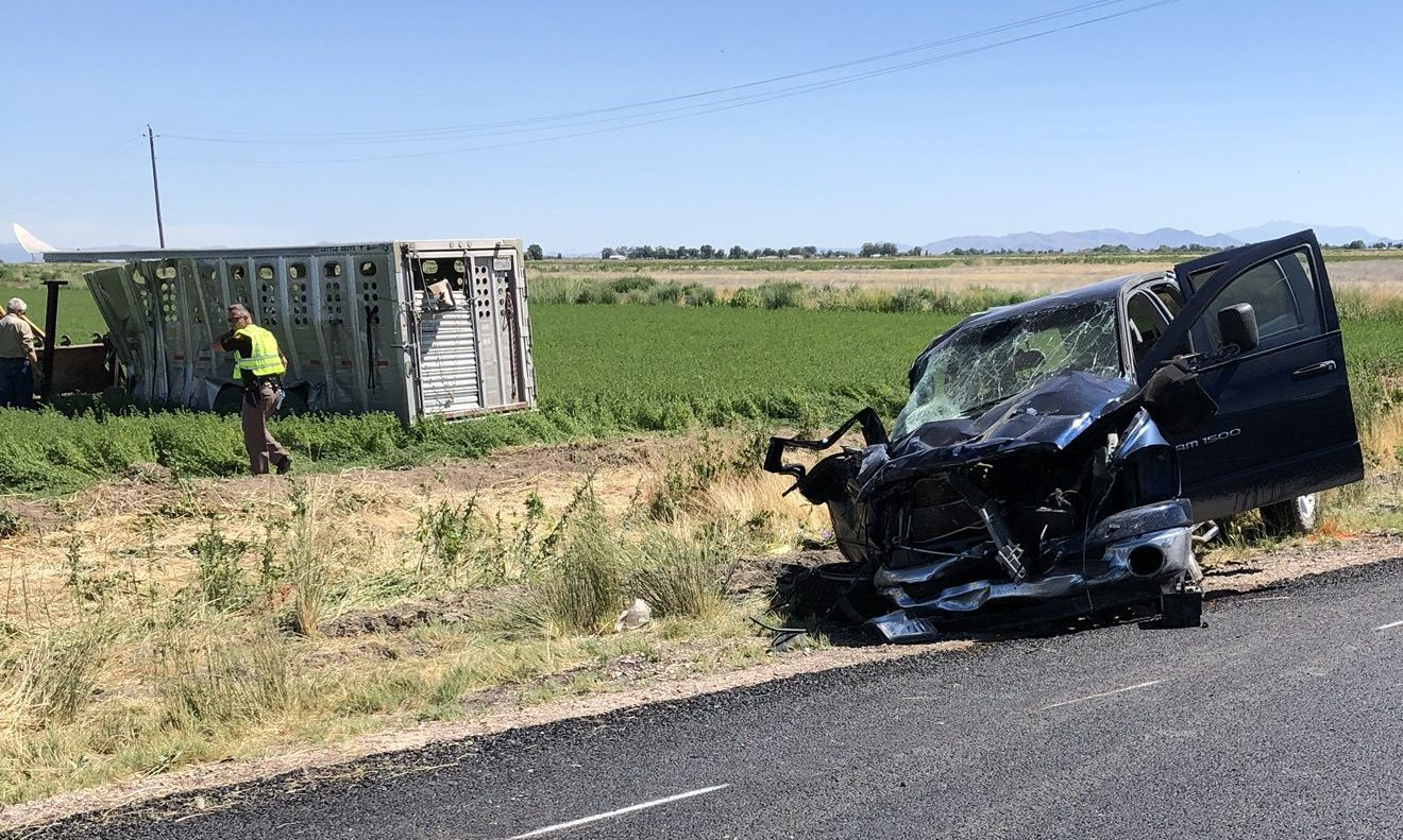 Photos: One man and 2 horses killed in Millard Countycrash