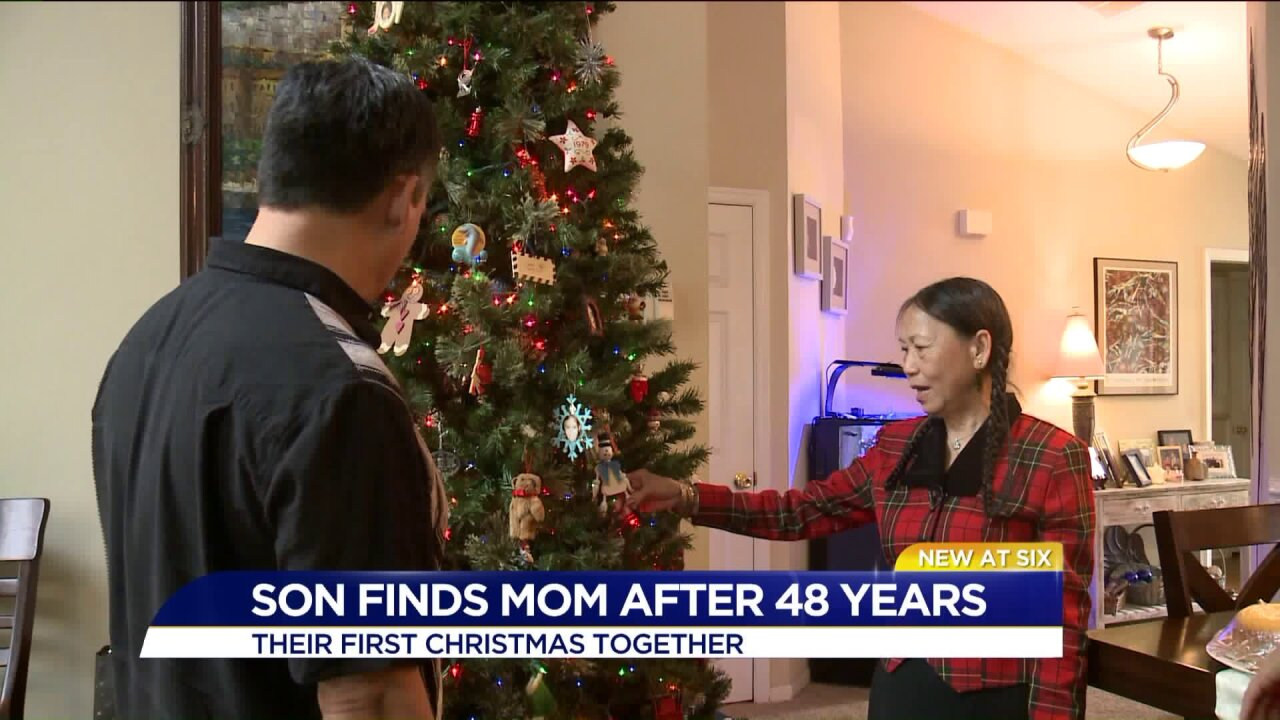 A Christmas Story: a Virginia Beach family's 1 in 2 billion chance of finding eachother