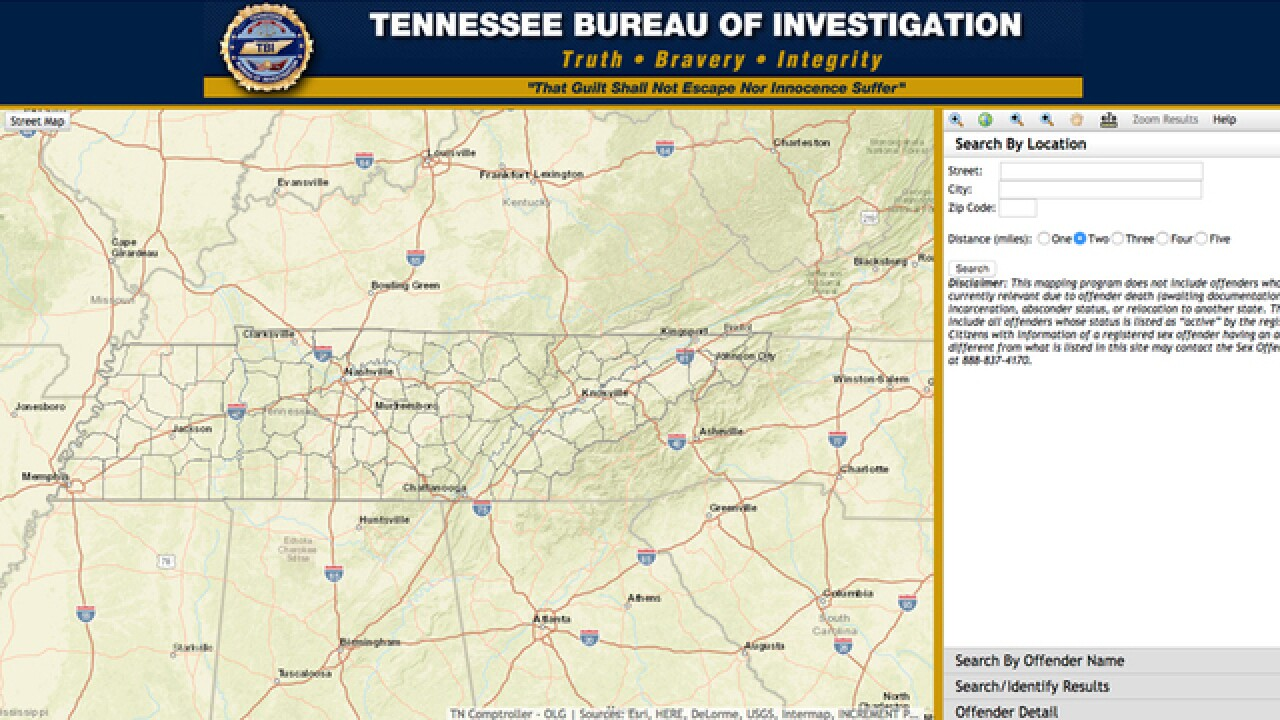Check Tenn. Offender Registry Before Trick-Or-Treating on