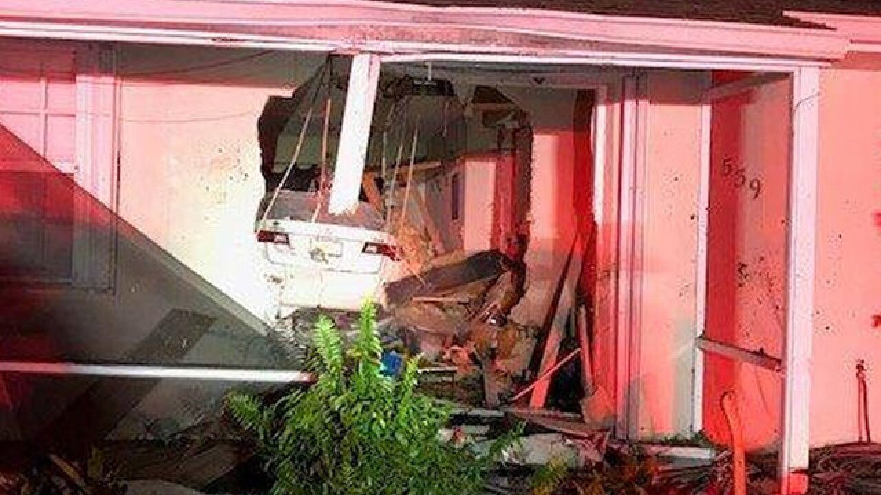 Drunk driver crashes into Port St. Lucie home