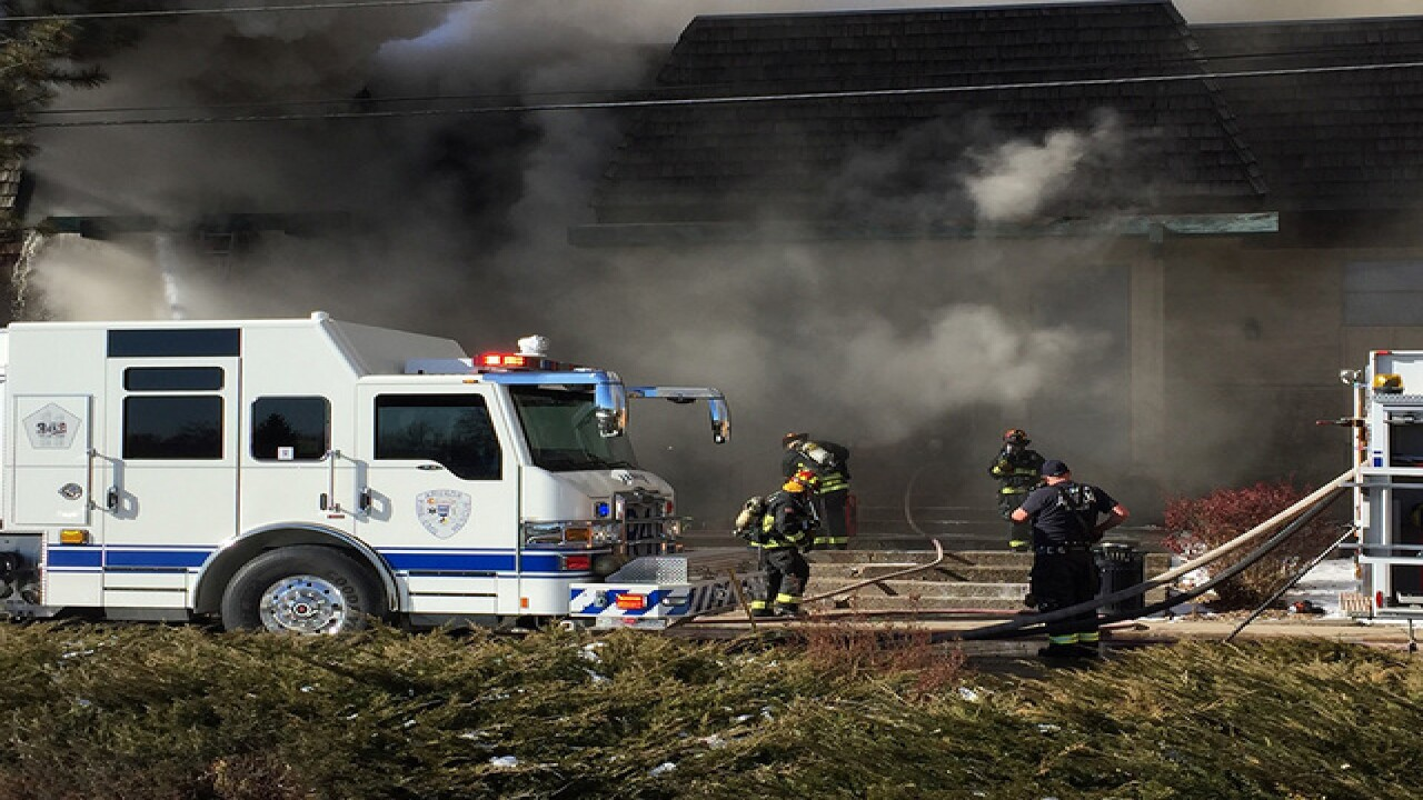 Person missing after fire at drug abuse clinic