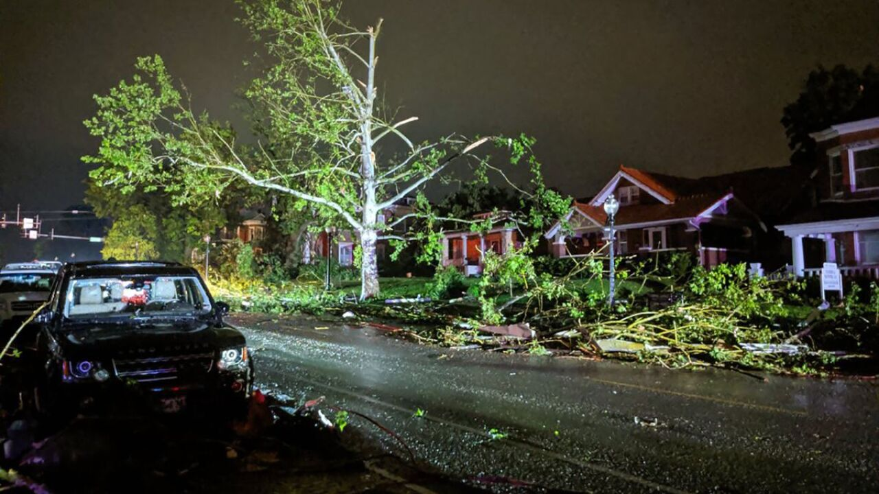 Violent tornado that hit Missouri's capital 'felt like an earthquake'