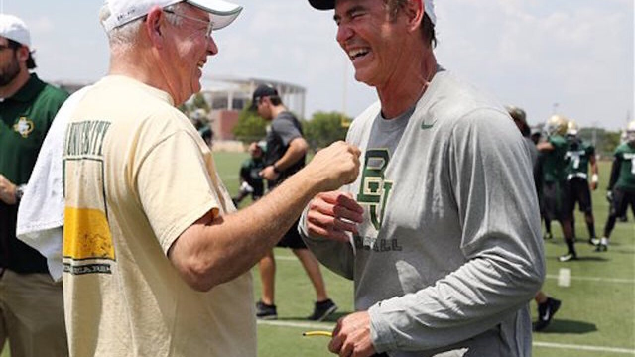 Briles officially out at Baylor after sexual assault scandal