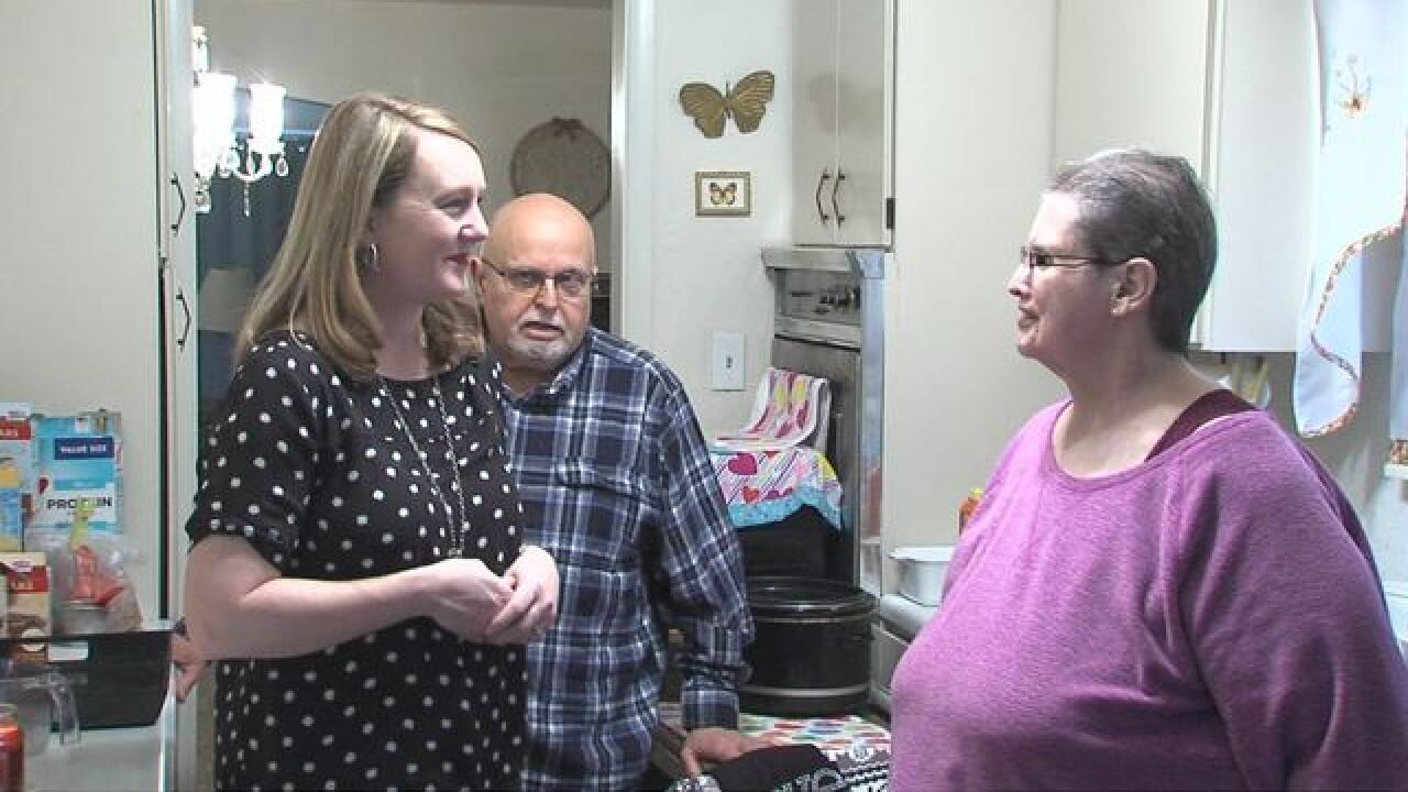 Couple gets new kitchen after Call 6 report
