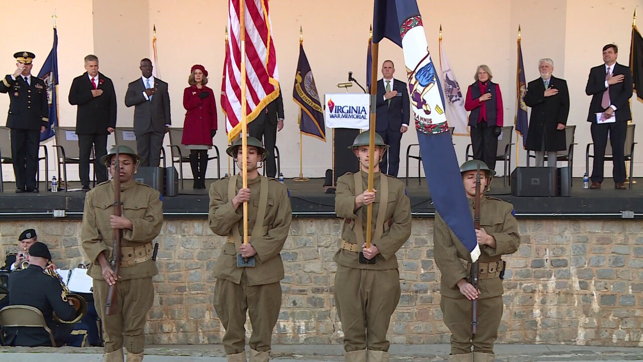 Hero who survived 3 wars honored at Commonwealth's Veterans DayCeremony
