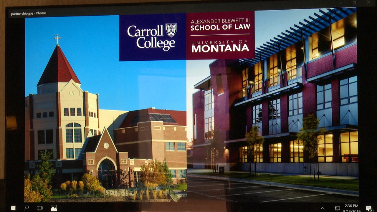 Carroll College, University of Montana partner to help students earn graduate degrees faster