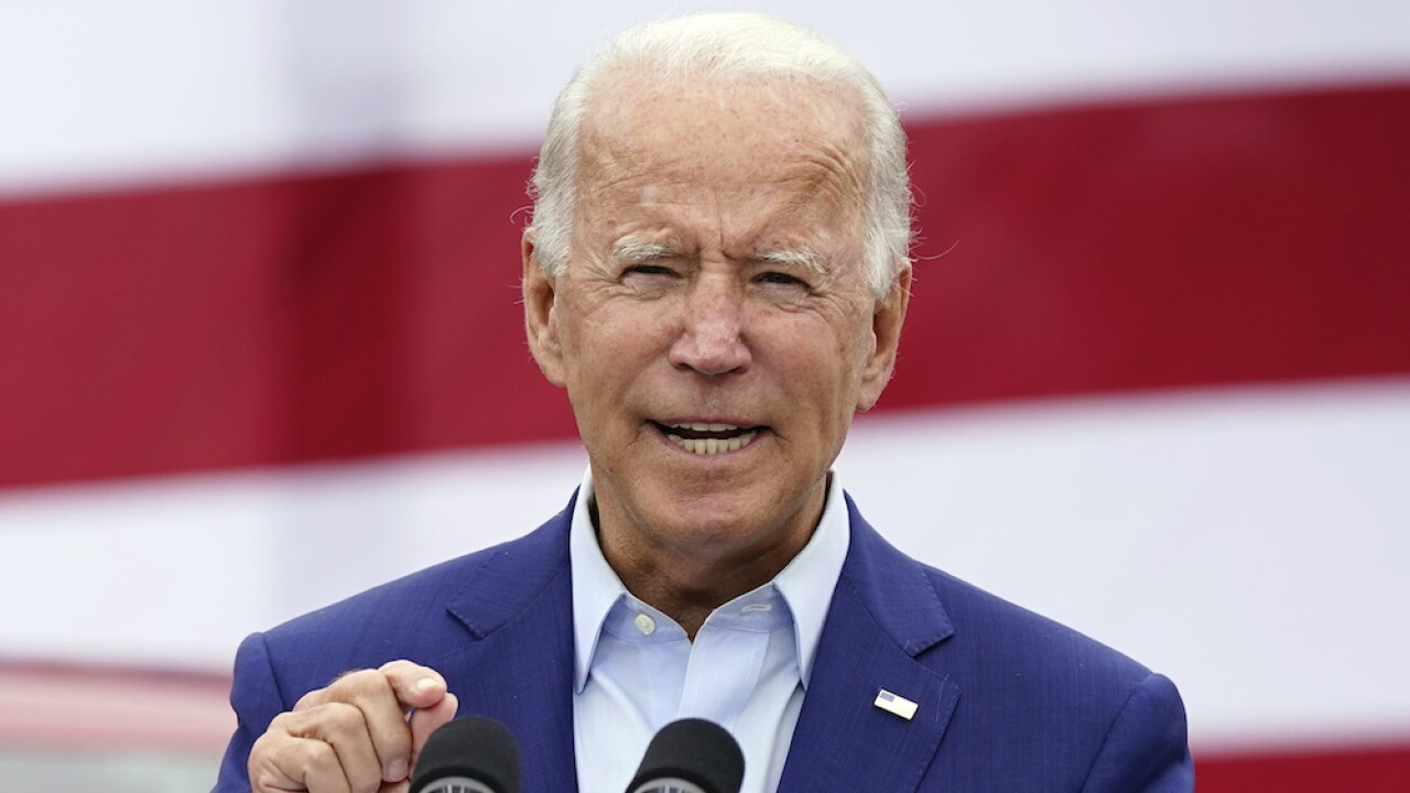 Biden: Trump 'failed to do his job on purpose' by downplaying COVID-19