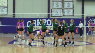 No.17 Montana Tech volleyball rallies to beat Carroll