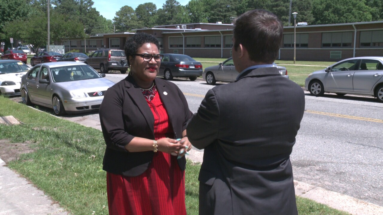 Local State Delegate's car broken into, but she's hoping to turn it into a positive