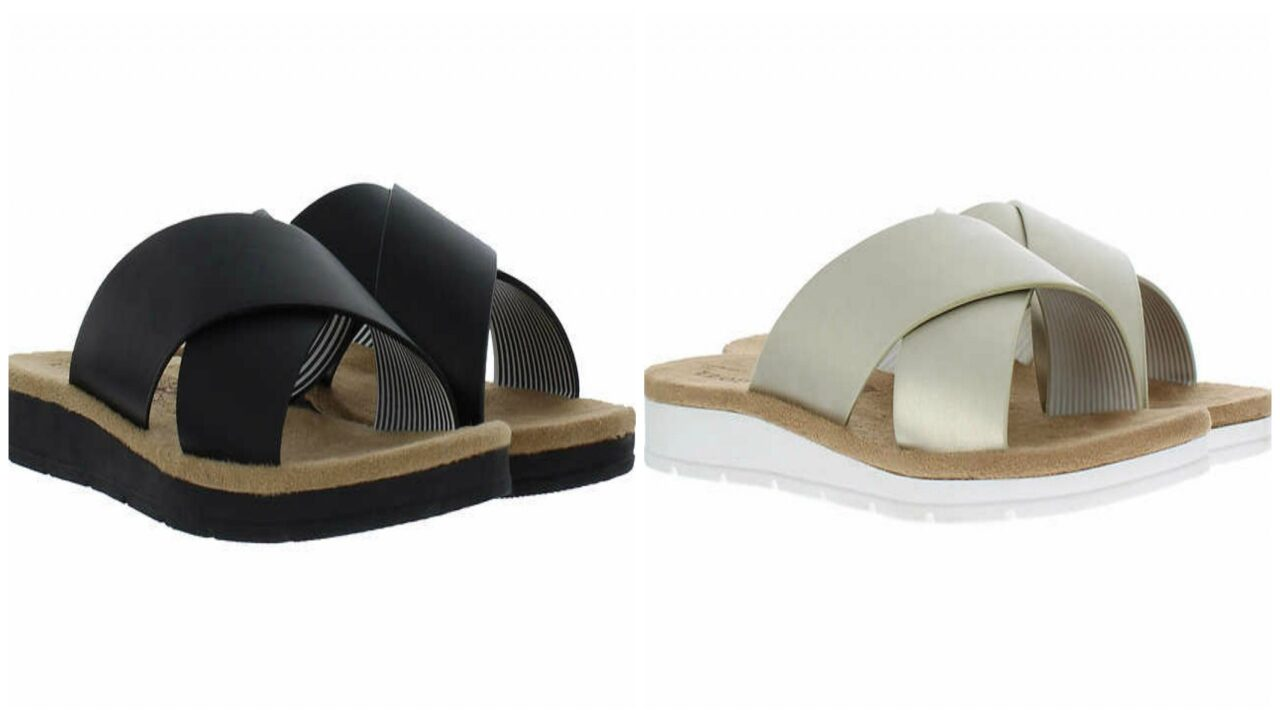 IZOD women's sandals are on sale for just $12