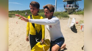Marine First Responders Junior Lifeguard Camp