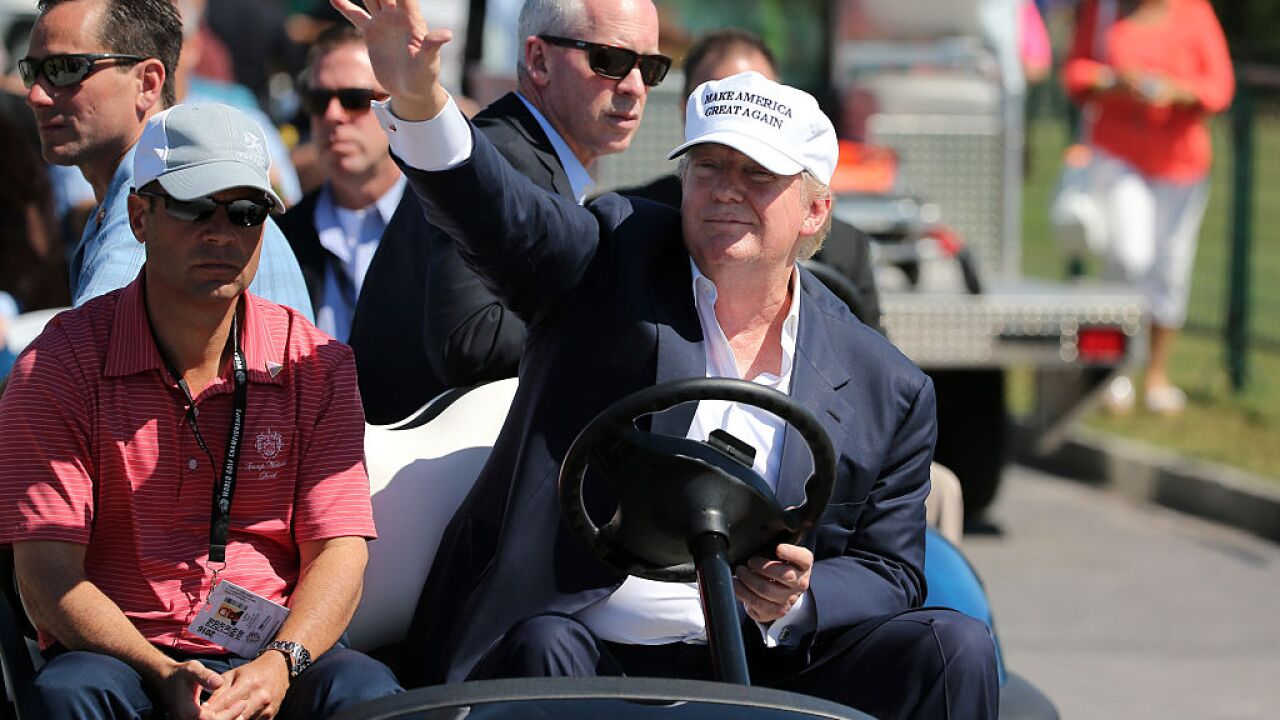 Miami-area strip club hosting charity golf tournament at Trump course, Washington Post reports