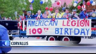 Corvallis parade celebrates 100 years of the American Legion