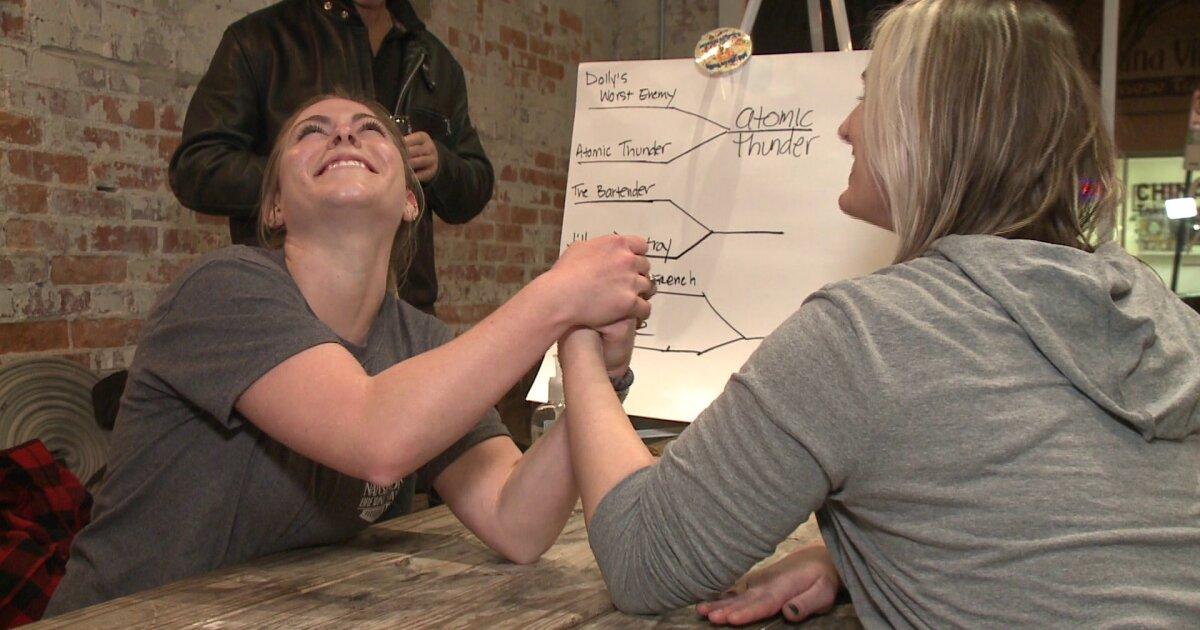 Ladies Flex Their Muscles At Suffolk Arm Wrestling Tournament