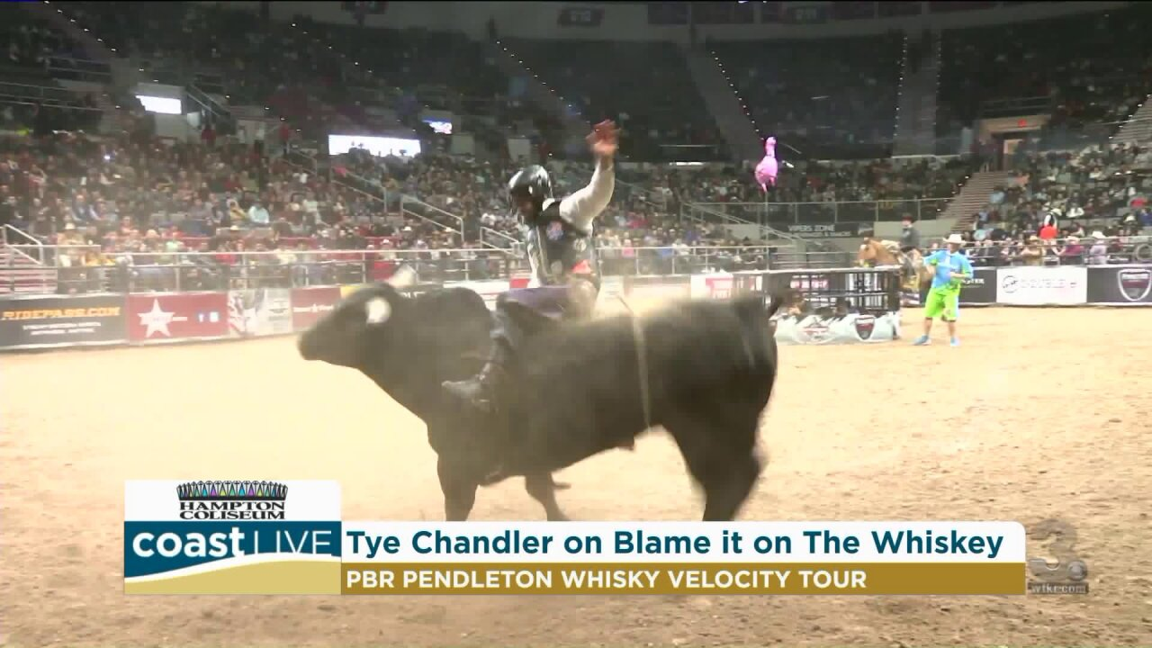 What it's like to be a bull rider on the PBR Velocity Tour on CoastLive
