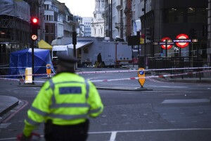 Bystanders tackled London terror attack suspect, wielding a fire extinguisher and a narwhal tusk