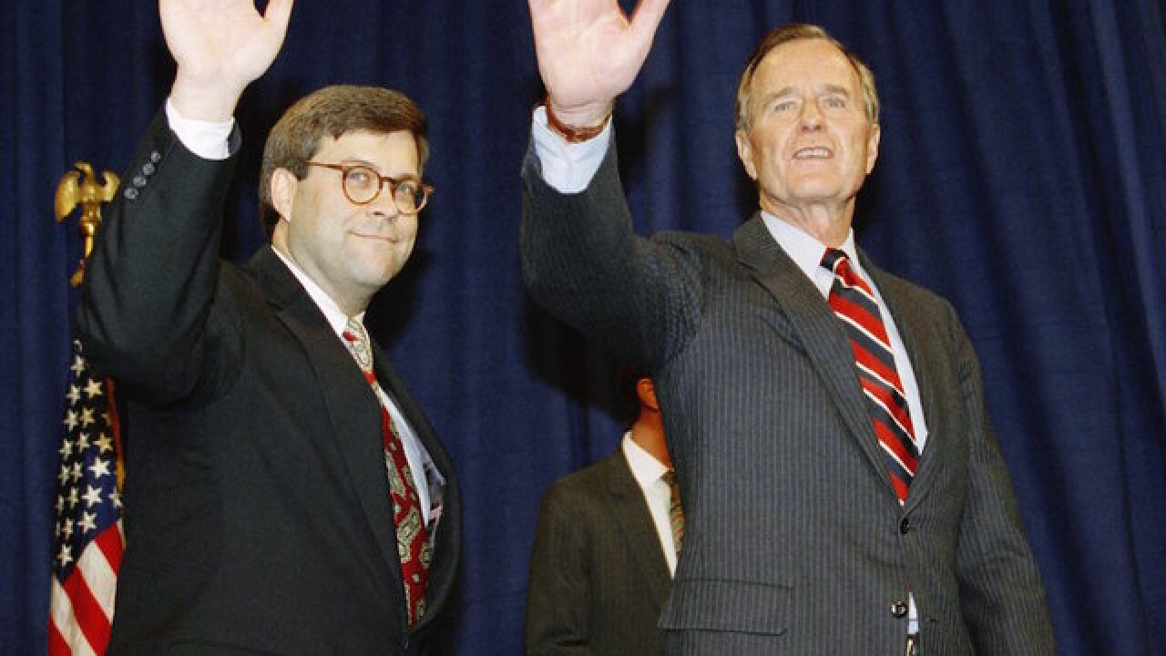 President Trump eyeing Bill Barr — Bush 41's AG — to replace Jeff Sessions