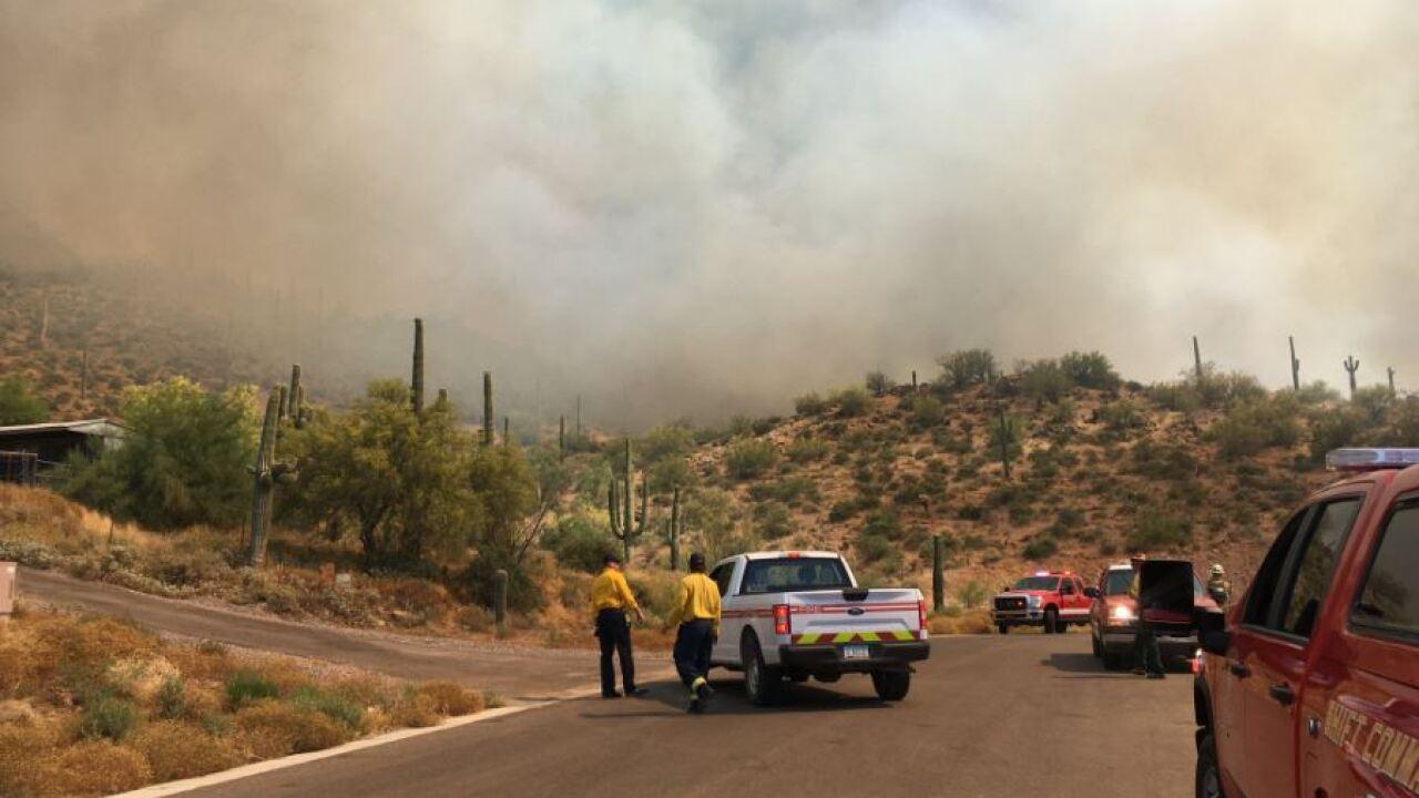 Desert Hills Brush Fire