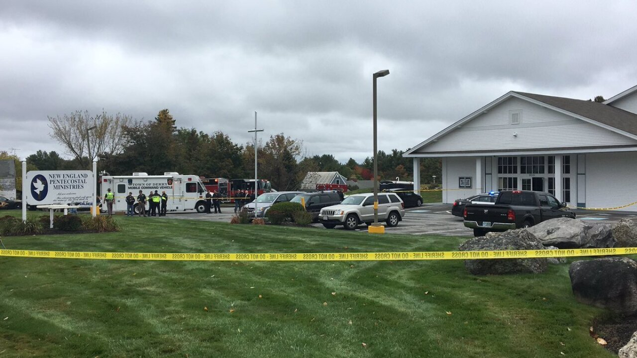 Shooting during wedding at New Hampshire church leaves at least 2 people wounded, police chief says