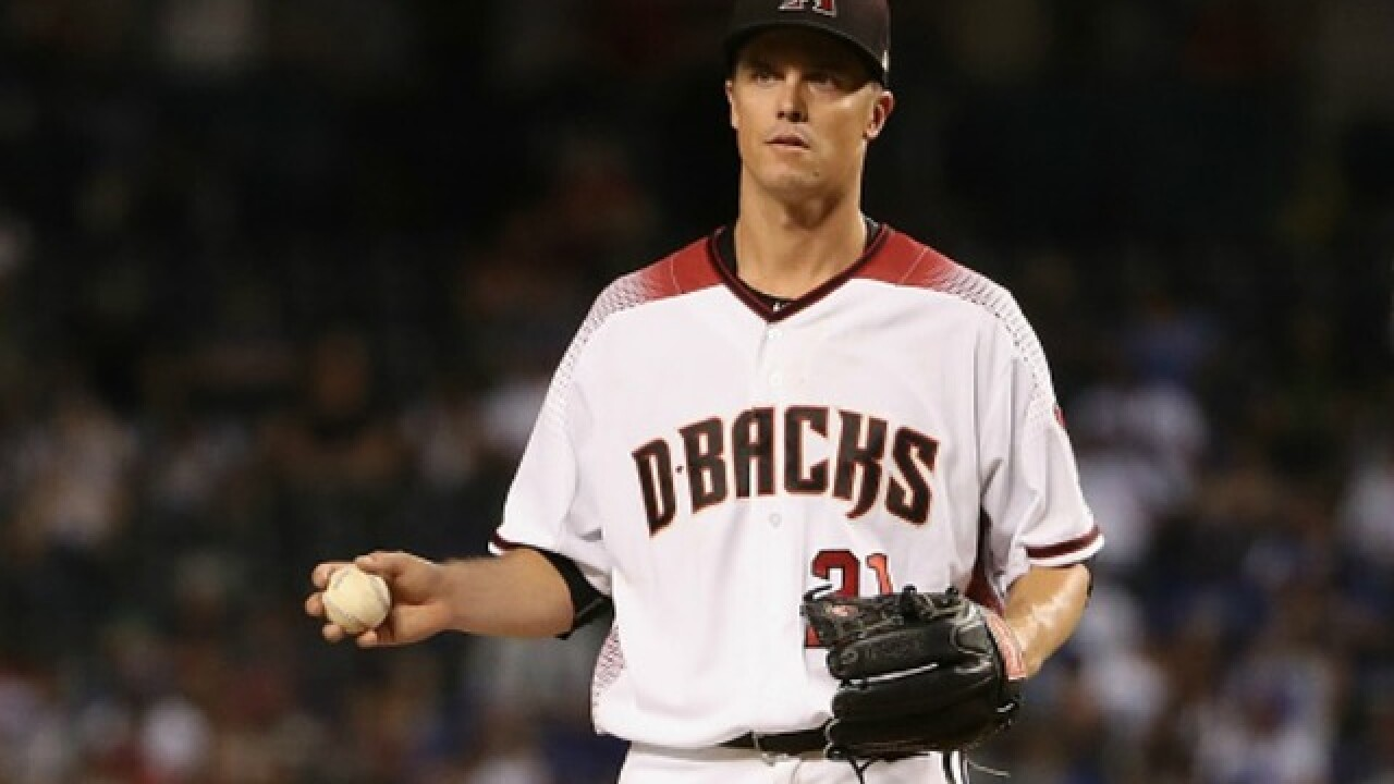 Report: Diamondbacks, Rangers discussing possible Zack Greinke trade