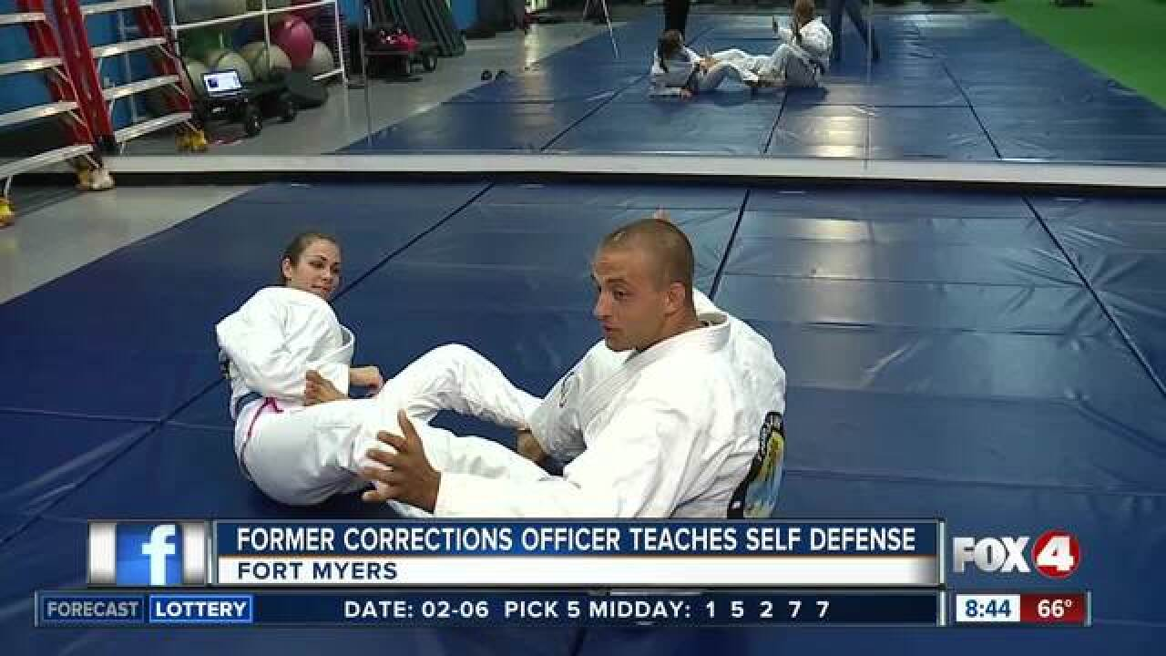 Former officer teaches self defense in SWFL
