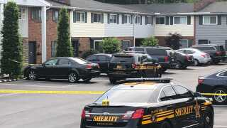 shooting scene sycamore township connected to fire