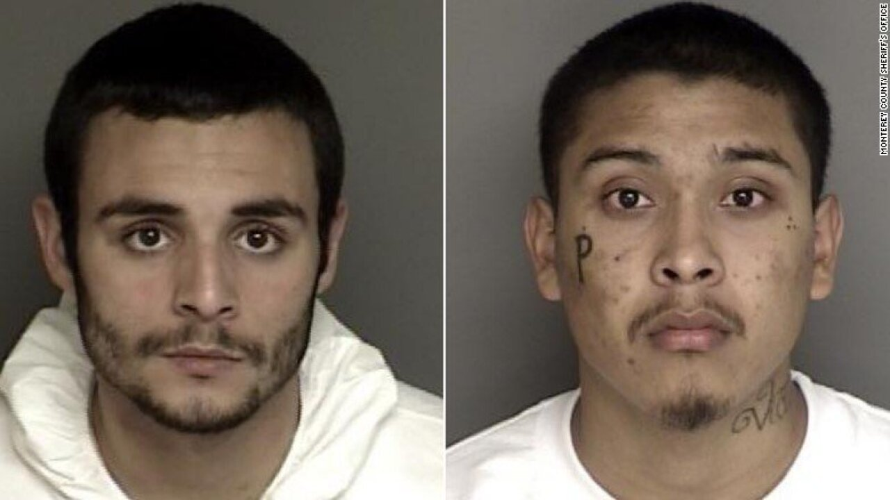 Murder suspects escape Northern California jail