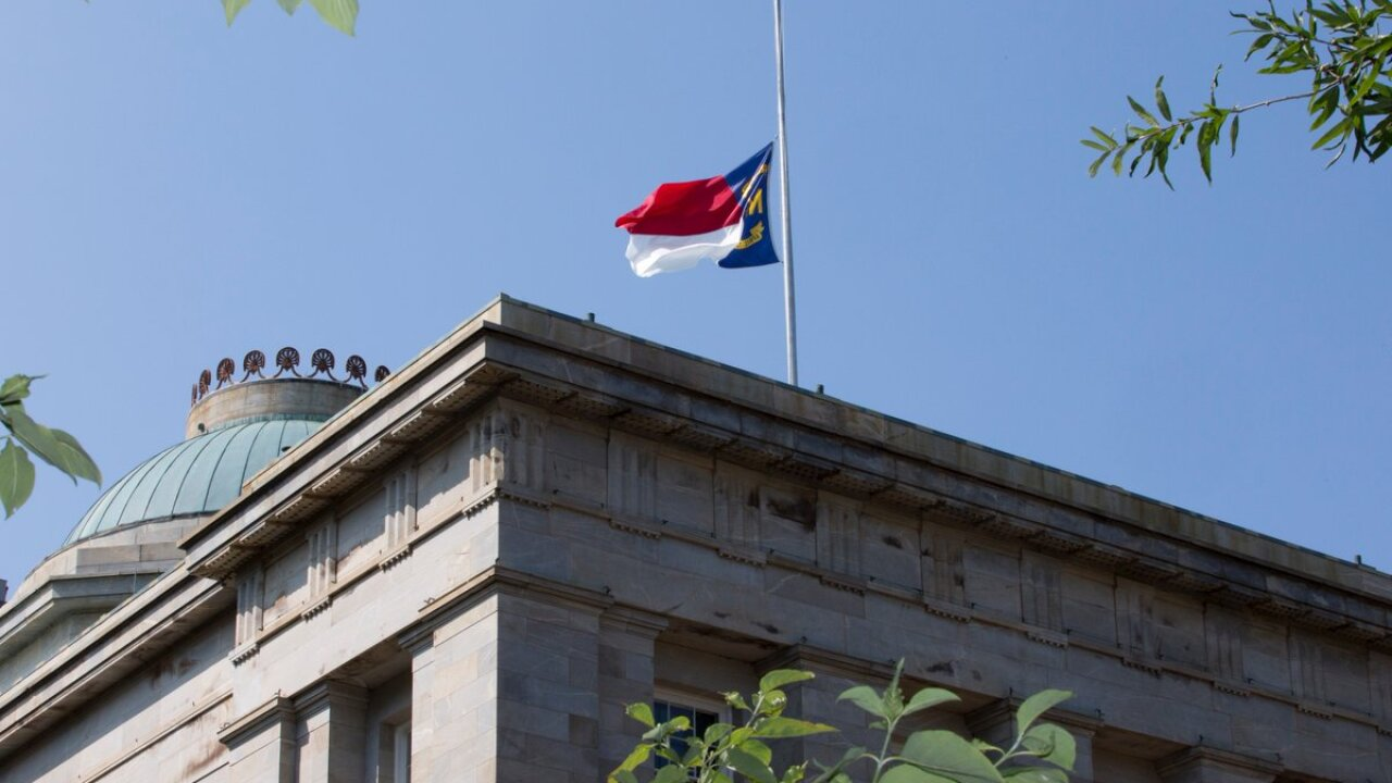 North Carolina honors Rep. Walter Jones, orders flags to half-staff
