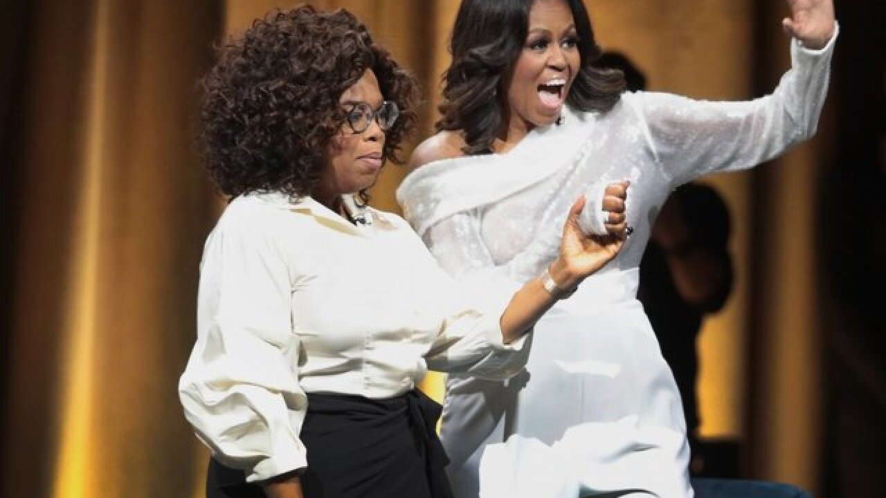 "Michelle Obama's ""Becoming"" sold more than 1.4 million copies in first week"