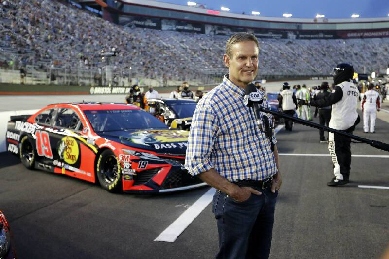 Gov Bill Lee at BMS All Star Race AP Photo.jpg