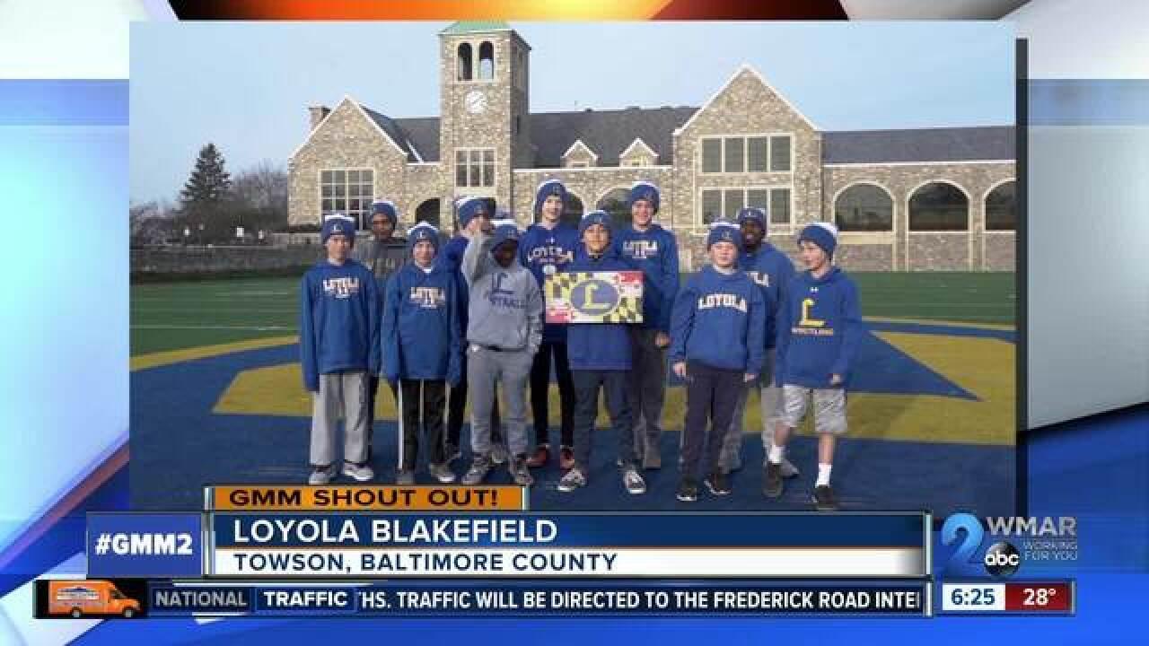 Loyola Blakefield Campus Map.Good Morning From Loyola Blakefield