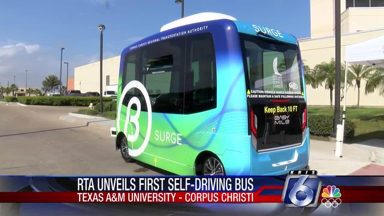 Texas A&M-Corpus Christi's new self-driving bus