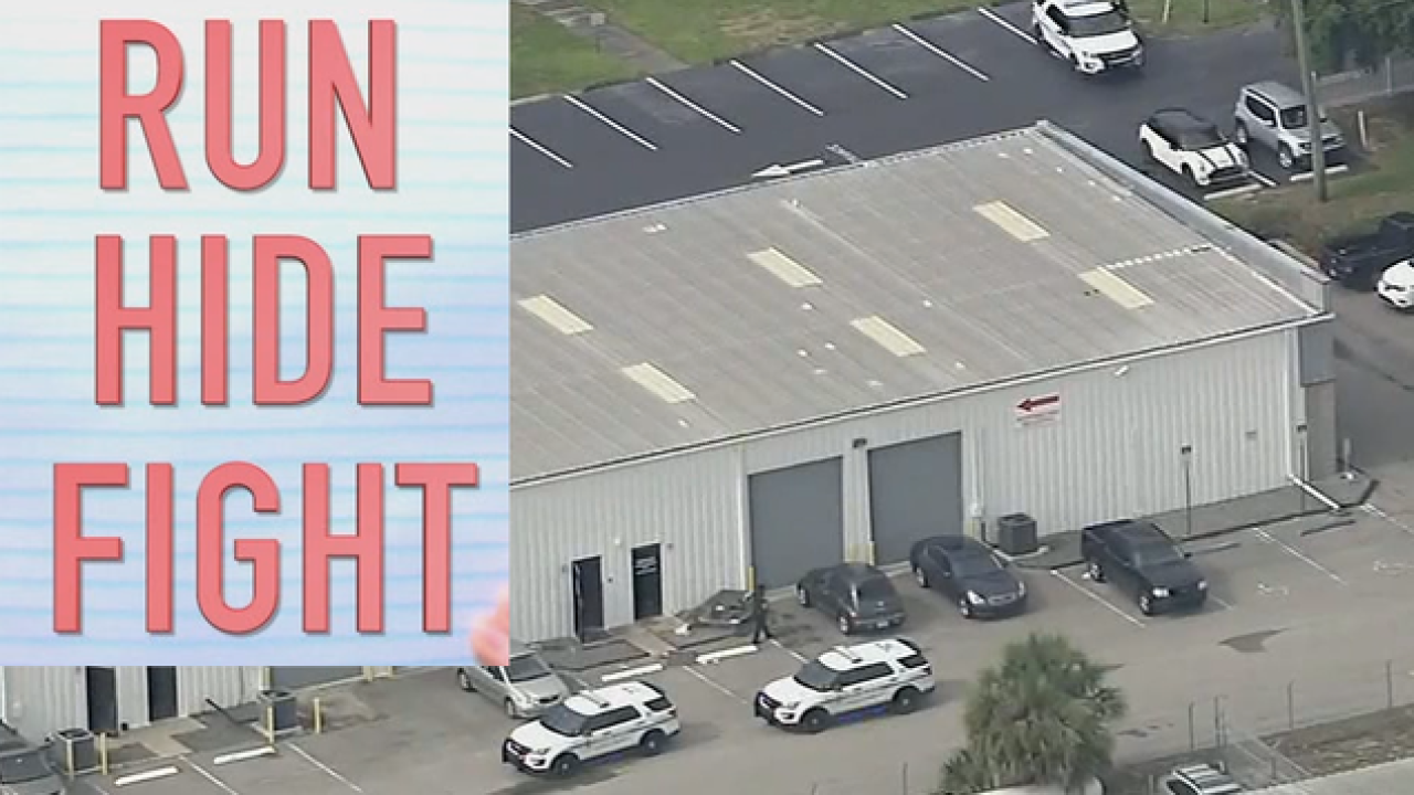 Tampa PD free active shooter drill & training