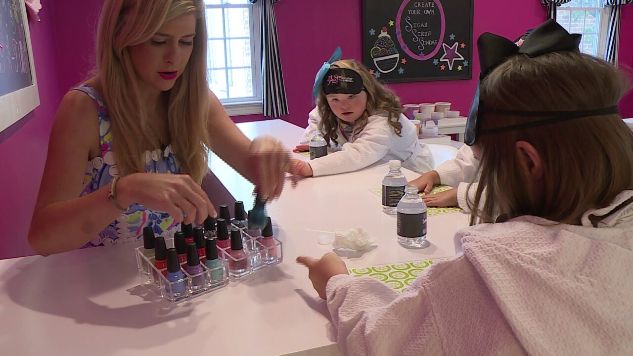 Nikki-Dee treats kids to a special Spa-Tacularvisit