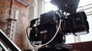 Camera cinema shooting